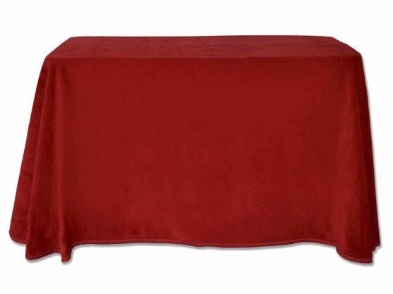 Comprar Falda mesa camilla rectangular online de terciopelo