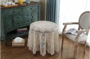 A Croche: tapetes de ganchillo redondos