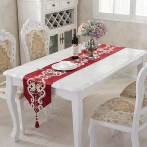 comprar camino de mesa bordado