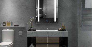Los mejores armarios con espejo y luz