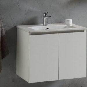 Muebles de baño con lavabo.