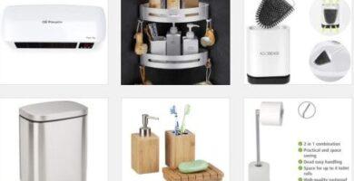 Accesorios de baño y complementos