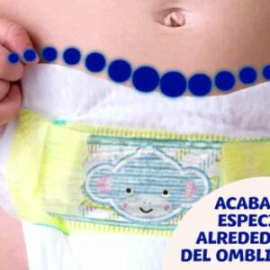 Pañales Talla 1 para recién nacidos y bebés de hasta 5 Kg.