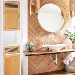 Más de 7 ideas geniales para mejorar y decorar un cuarto de baño pequeño.